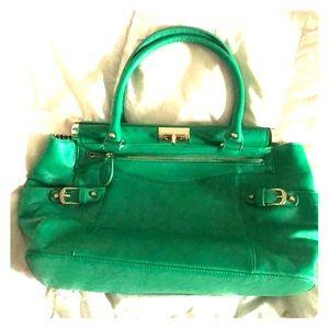 Just fab Emerald handbag